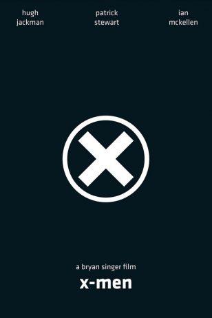 X-Men - 《X战警》电影海报