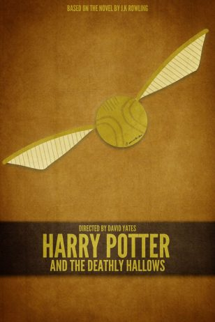 Harry Potter and the Deathly Hallows - Part 2 - 《哈利·波特与死亡圣器(下) 》电影海报
