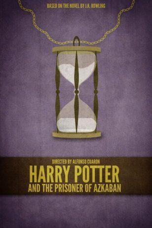 Harry Potter and the Prisoner of Azkaban - 《哈利·波特与阿兹卡班的囚徒》电影海报
