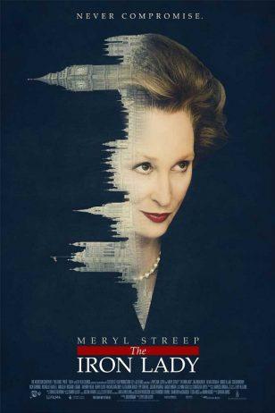 The Iron Lady - 《铁娘子》电影海报