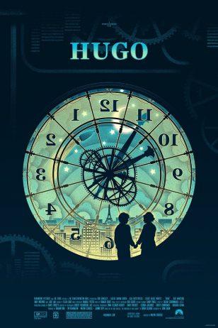 Hugo - 《雨果》电影海报