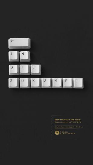 Back to the Future - 德国 Yorck 电影院网上票务广告:《回到未来》