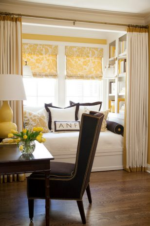 土黄色窗帘系列