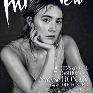 《Interview》杂志2016年3月号