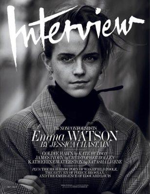 Emma Watson《Interview》杂志2017年5月号