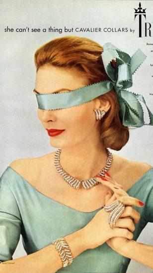 Trifari Jewels - Trifari 珠宝复古海报