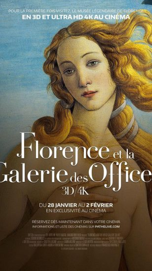 Florence and the Uffizi Gallery - 《佛罗伦萨与乌菲兹美术馆》电影海报