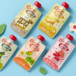 Brownes风味酸奶包装