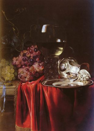 A Still Life of Grapes