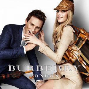 Burberry 2012春夏系列 完整版 Eddie Redmayne & Cara Deleving