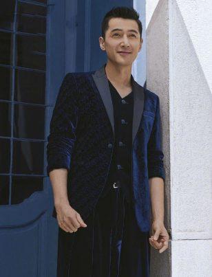 胡歌最新时尚杂志封面大片