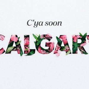 漂亮的手工花卉字体设计