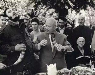 赫鲁晓夫和卡斯特罗
