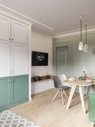82平米的 现代舒适公寓设计
