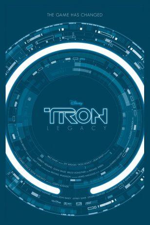 TRON: Legacy - 《创战纪》电影海报
