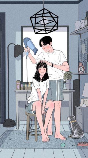 韩国插画师 Myeong Minho 作品