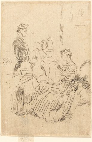 美国画家惠斯勒(James Abbott McNeill Whistler)