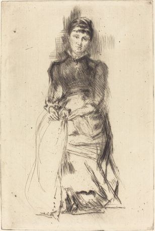 美国画家惠斯勒(James Abbott McNeill Whistler)