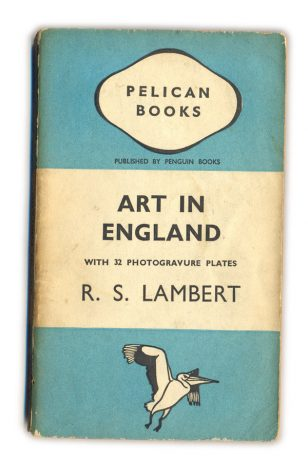 1938 Art in England - R.S.Lambert