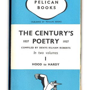 1938 The Century's Poetry I - Kilham Roberts