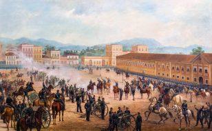 Benedito Calixto的共和国宣言
