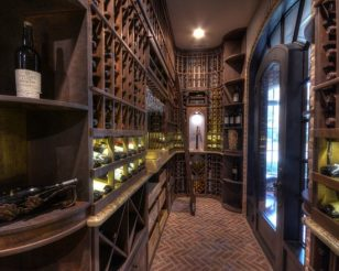 Traditional Wine Cellar in Houston, Texas