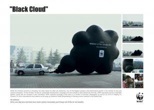 世界自然基金会 | World Wildlife Fund (WWF) | 奥美 | Ogilvy | Black cloud