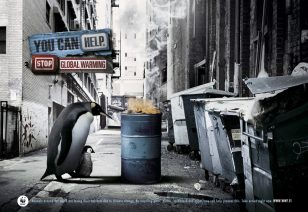 无家可归  世界自然基金会 | World Wildlife Fund (WWF) | 灵智 | Euro RSCG | Homeless Penguin