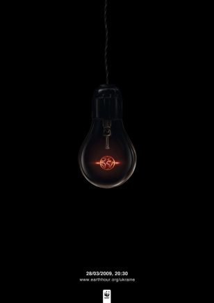 世界自然基金会 | World Wildlife Fund (WWF) | 奥美 | Ogilvy | Light Bulb