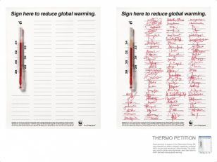 世界自然基金会 | World Wildlife Fund (WWF) | 天联 | BBDO | Thermometer