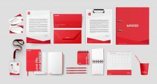 Miniso Brand Identity