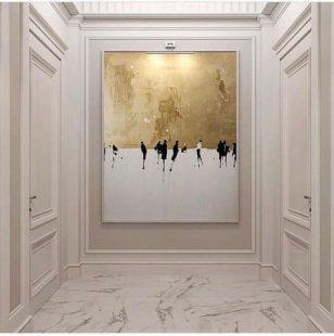 白色简欧护墙板