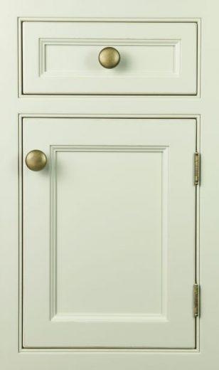 绿色北欧橱柜柜门