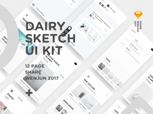 Dairy Photo Pages sketch下载