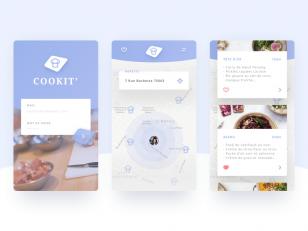 Cookit App Sketch 素材下载