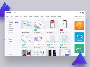 Uplabs Home Page redesign .psd下载
