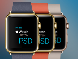 Apple Watch psd 界面下载