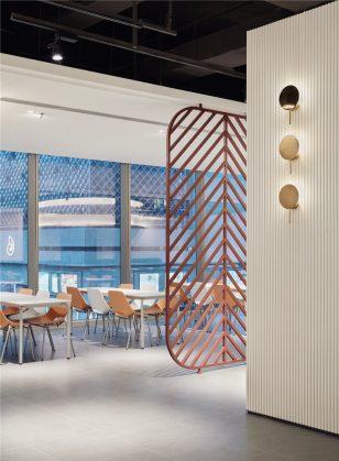 深圳湾一号T7员工食堂 | 于强室内设计