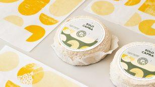 意大利阿尔塔兰加Pascoli di Amaltea奶酪包装设计