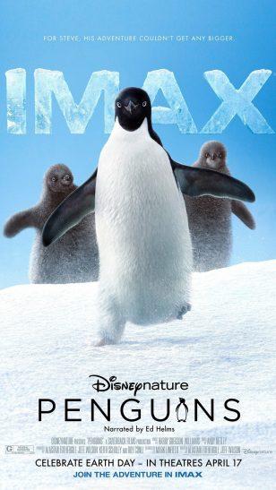 Penguins - 美国纪录片《企鹅》海报