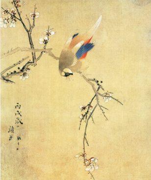 花鸟图(之二)颜岳