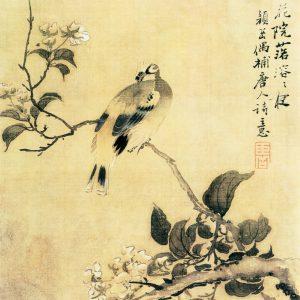 花鸟图(之三)颜岳