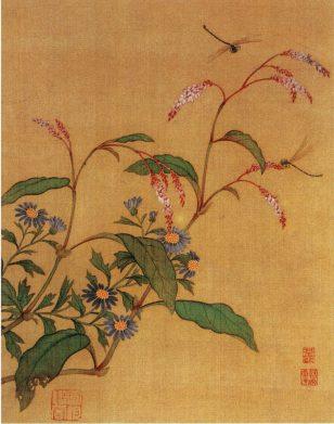 花卉草虫图(之—) 马荃