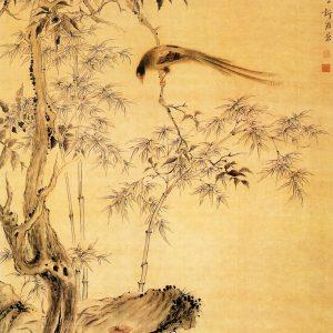 《桂树绶带图》华品山