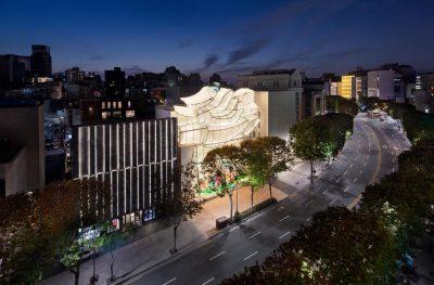 弗兰克·盖里&彼得·马里诺 | LV首尔旗舰店设计