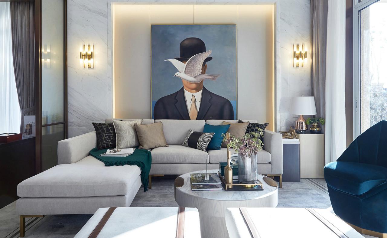 华尔兹之梦,260m²现代时尚风样板间 | 美致家居设计