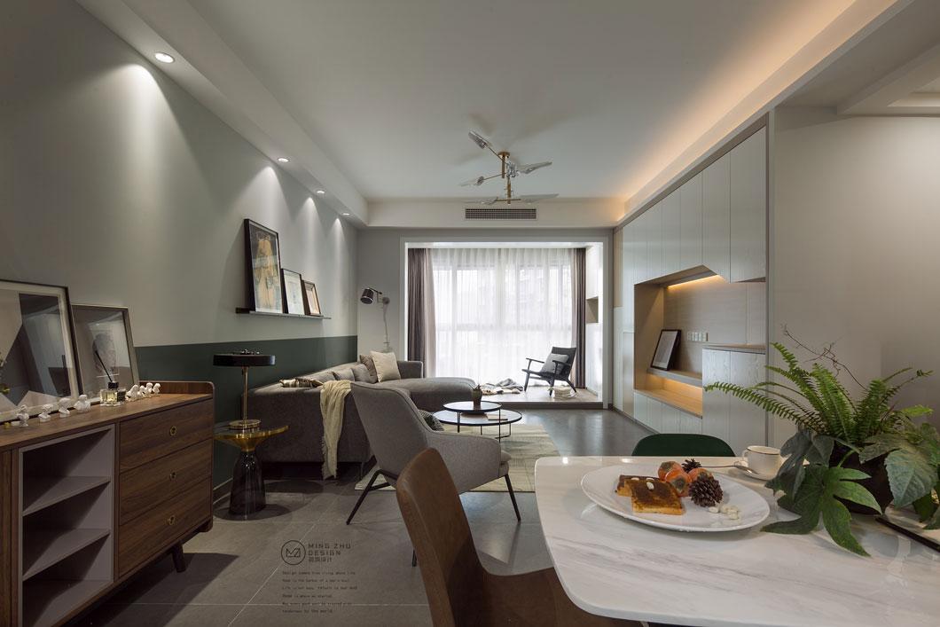 126㎡复古、休闲、时尚于一身的住宅设计 | 名筑设计