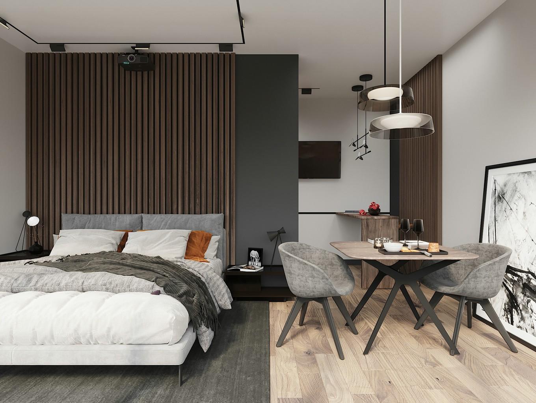 一个人的小公寓,北欧生活的随性美