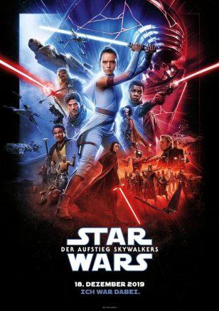 电影《星球大战9:天行者崛起》海报设计