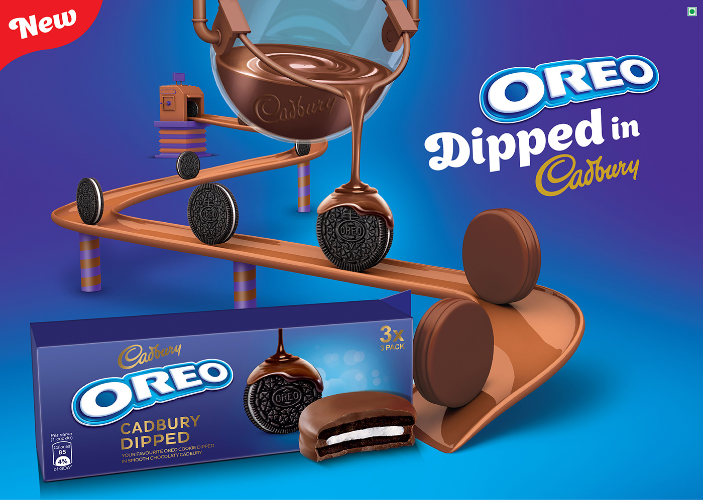 Cadbury Oreo Dipped